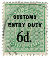 (I.B) Ireland Revenue : Customs Entry Duty 6d