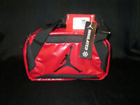 NEW NIKE JORDAN Lunch Bag With tags INSULATED 9A1848-R78 COLOR RED/BLACK MSRP$30