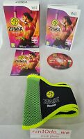 Zumba Fitness +Belt -BIG BOX (Wii) -Dancing Fun Exercise+Fitness Game=NEAR MINT✔