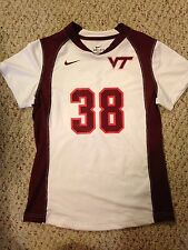 Nike Virginia Tech Hokies Womens Lacrosse #38 Game Worn Jersey