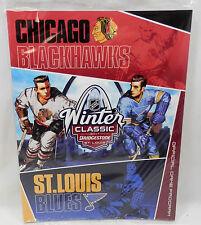 NHL SEALED 2017 WINTER CLASSIC GAME PROGRAM BLACKHAWKS VS ST LOUIS BLUES 1/2/17