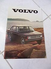 Volvo 164 140 1800E gamme 1969 catalogue brochure dépliant prospekt catalog