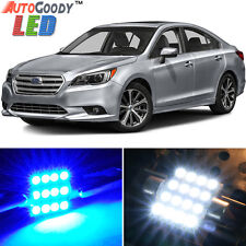 14 x Premium Blue LED Lights Interior Package Kit for Subaru Legacy 10-17 + Tool