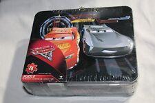 Cars 3 Lightning McQueen Puzzle Lunchbox Tin 24 Pieces Disney Pixar Cardinal