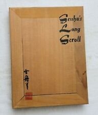 1960, Sesshu's Long Scroll, Intro by Reiko Chiba, Tuttle Accordian-Style, VG