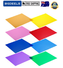 NEEWER Eight 30X 30cm Color Filter Sheets 10086723