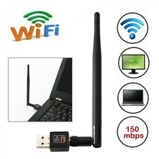 Wireless Wifi Adapter USB Wifi Receiver Lan Network Card For PC Computer Desktop