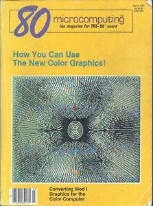 Radio Shack Tandy TRS-80, 80 Micro Magazine, March 1982