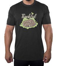 Thankful Baby Deer Men's Shirts, Funny Men's Tees, Thanksgiving Shirts for Men!