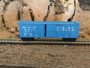 N Scale Micro trains 40' outside braced boxcar SP SHASTA SPRING WATER NIB.rare