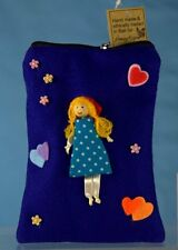 Girl bag. Doll purse wallet. Handmade & Ethically traded Great children's gift