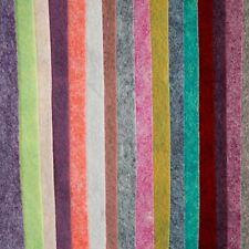 Merino Wool Blend Felt, 24 colour options, sheet, mini roll