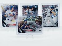 4 Lot 2016 Corey Seager RC Rookie Cards w/ Bowman & Topps Chrome. WS Dodgers