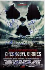 Chernobyl Diaries Cast Signed 11x17 Movie Poster Photo 10 x Autographs