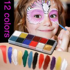 12 Colors Face Body Oil Painting Paint Pigment for Beauty Kit Makeup Cosmetic