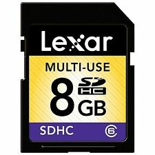 Lexar Value 8GB Class 6 - SDHC Card - LSD8GBASBNACL6