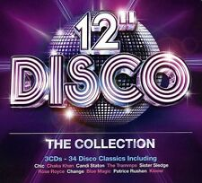 12-Inch Disco: The Collection - 3 DISC SET - 12-Inch Disco: The  (2013, CD NEUF)