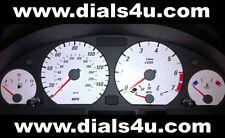 BMW 3 SERIES E46 (1998-2006) - 140mph (Petrol or Diesel) - WHITE DIAL KIT