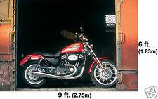 Giant Harley Davidson Motorcycles Wall Mural Sportster Box Car Wallpaper 6'x9'