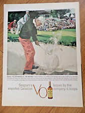 1959 Seagram's VO Whiskey Ad Golfing Perfect at the Masters Augusta