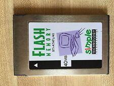 Simple Technology STI-ATAFL 40MB Flash PC Storage Memory Card