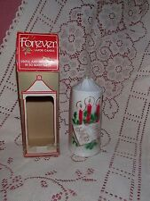 Jasco Christmas Forever Vapor Candle Vintage 1981 Christmas Collectible