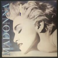 MADONNA - TRUE BLUE - 1987 Vinyl Sire Records Original WX54 - VG/EX