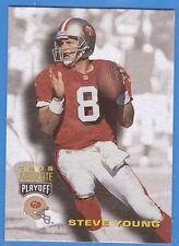 1995 STEVE YOUNG - Playoff Absolute Football Card # 56 - S.F. 49ers