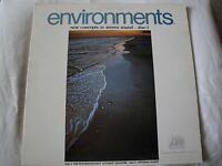 ENVIRONMENTS DISC 1 THE PSYCHOLOGICALLY VINYL LP 1970 ATLANTIC RECORDS STEREO EX