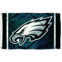 Philadelphia Eagles 3x5 FT Flag Midnight Green, White, Black Football NFL Banner