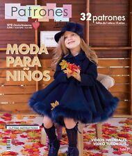 Sewing Pattern Magazine Book Baby Girls' Dresses Boys Fashion Autumn Winter