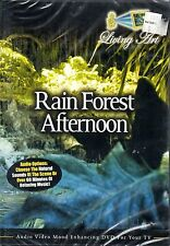 Living Art RAINFOREST AFTERNOON: VIRTUAL RELAXATION w/ NATURAL SOUNDS & MUSIC!