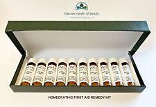 Homeopathy First Aid Kit 10 Remedies 30c - Aconite Apis Arnica Arsen Belladonna