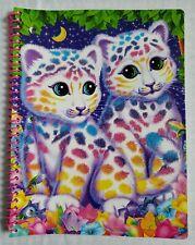 "Lisa Frank Subject Notebook Wide Ruled 10.5 x 8"" Kitty Kitten Cat"