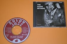Coleman Hawkins - The Hawk Returns / Savoy 1992 / Made In Japan / Rar