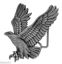 descendant en piqué AMERICAN EAGLE 3D boucle ceinture ANTIQUE effet argenté