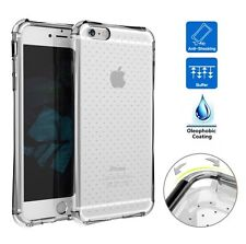 FUNDA CARCASA SILICONA ANTIGOLPES MAXIMA PROTECCION TRANSPARENTE IPHONE 6 PLUS