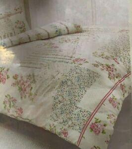 Single Size Freya Pink Soft Duvet Cover Set With Pillowcase