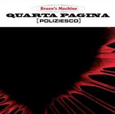 Quarta Pagina (Poliziesco) (Deluxe Edition LP+CD) von The Braens Machine (2015)