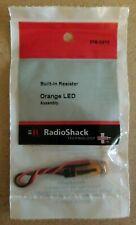 NEW! RadioShack Orange LED Assembly w/ Built-In Resistor 2760272
