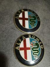 2 PZ Stemma  Logo ALFA ROMEO  147 156 159  164 MITO GIULIETTA  GT BRERA