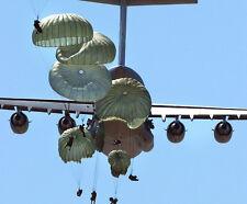 Parachute RIGGER WING LARGE XL HAT PIN US ARMY MARINES NAVY AIR FORCE PARACHUTE