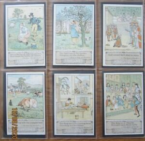 Literary, From the original drawings by Randolph Caldecott, set of 6, series D