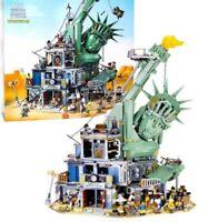 Lego Mega Bloks COMPATIBIL100% MOC MOVIE 2☆ STATUA DELLA LIBERTà ☆ BULKBOX 70640