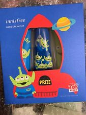 NEW Innisfree Toy Story GreenAlien Hand Cream Lotion Set Rare 3 Scents