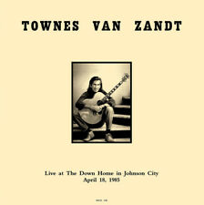 Townes Van Zandt - Live in TN 1985  - NEW SEALED Import 180g LP radio broadcast