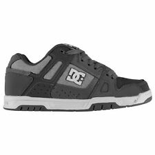 Mens Skate Shoes DC Stag Trainers Breathable New