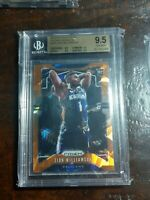 Zion Williamson 2019/20 Prizm Basketball Prizms Orange Ice Bgs 9.5  Gem Mint 248
