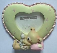 Foto in ceramica, CORNICE. Baby Orso Abbracci. Salco. principali di colore giallo - 10 cm alto