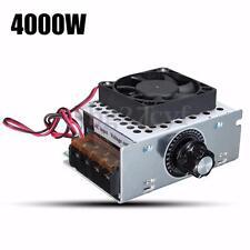 Electric AC 220V 4000W SCR Voltage Regulator Motor Speed Control Controller Fan